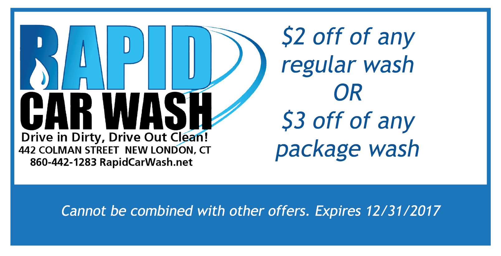 Car wash discount coupons