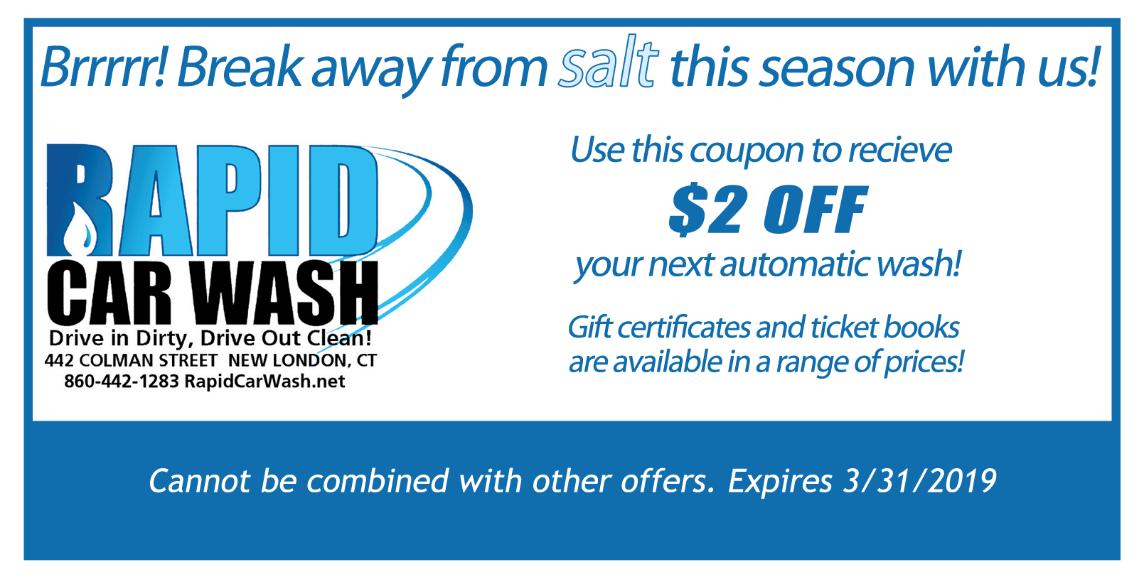 Coupons for Stores Related to aquacleancarwash.com